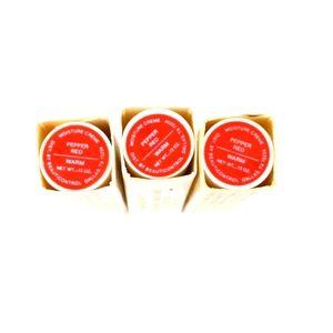3 VTG Beauticontrol Pepper Red Lipstick New Sealef